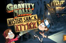 Gravity Falls Mystery Shack Attack