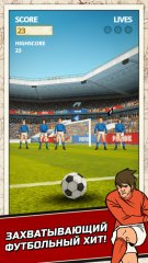 Flick Kick Football скачать для iPhone, iPad и iPod
