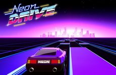 Neon Drive - '80s style arcade game
